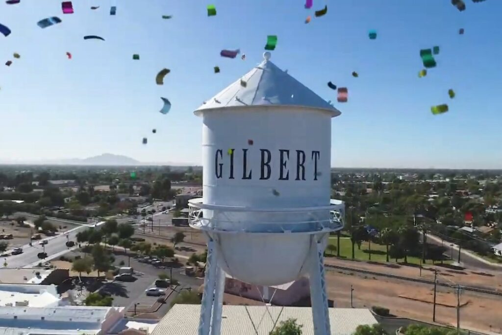 Water Tower in Gilbert
