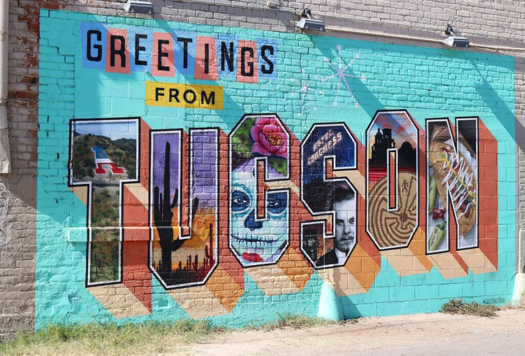 Wall graffiti in Tucson
