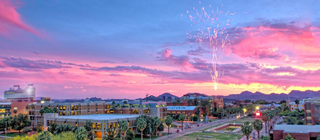 View of University of Arizona in Tucson