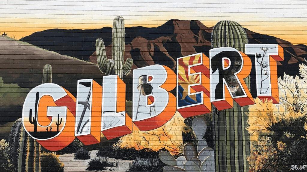 Gilbert graffiti
